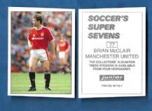 Manchester United Brian McClair 79
